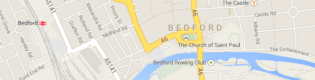 SEO Bedford Map