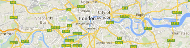 SEO london Map